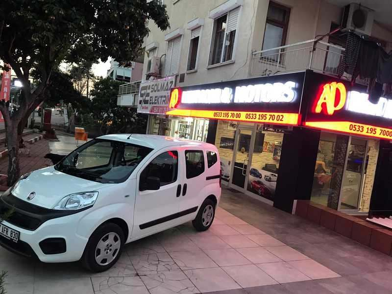 Fiat Fiorino for rent in Antalya