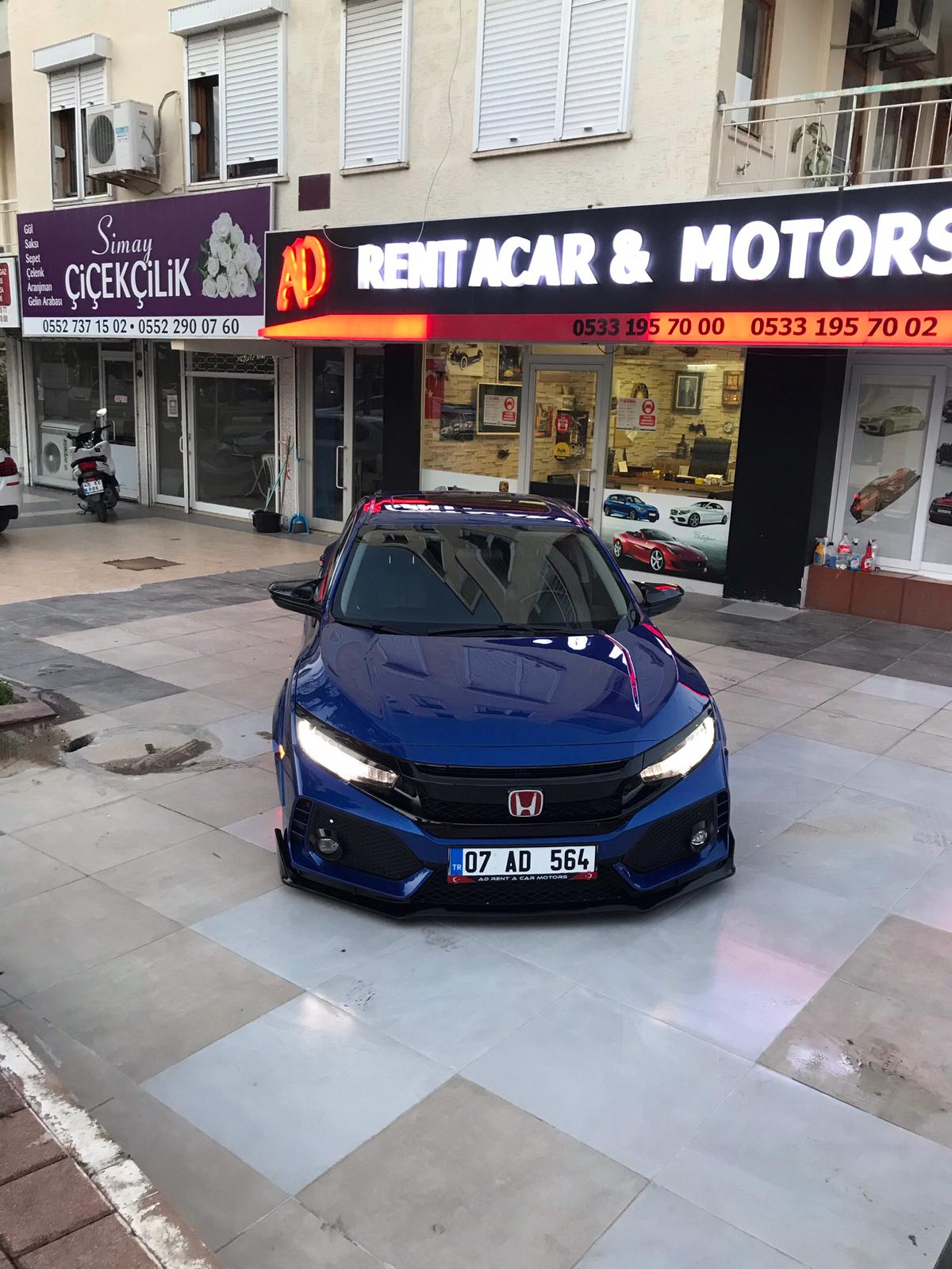 Honda Civic zu vermieten in Antalya