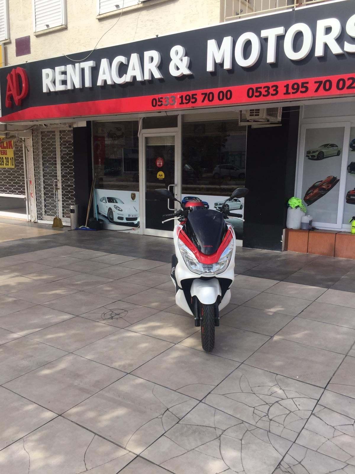 Antalya Kiralık Honda Pcx