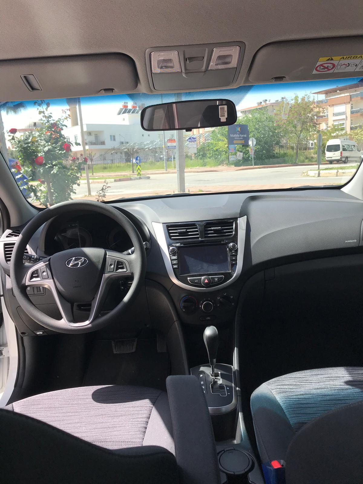Antalya Kiralık Hyundai Accent Blue