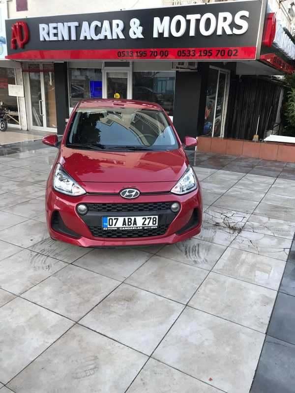 Antalya Hyundai i10 for rent