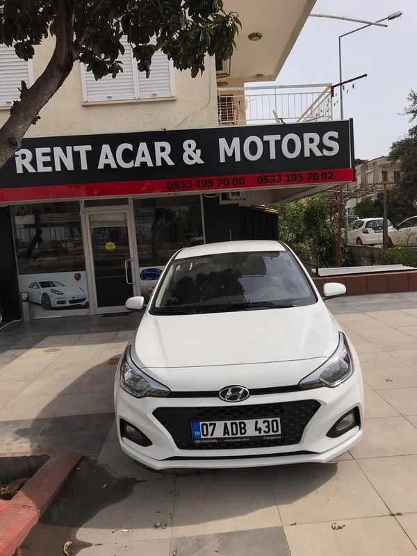 Antalya Rental Hyundai i20 Automatic Gear