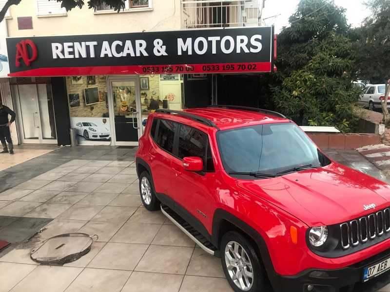 Jeep Renegade zu vermieten in Antalya