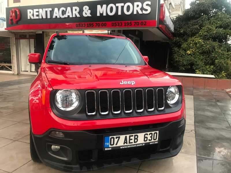 Antalya Kiralık Jeep Renegade