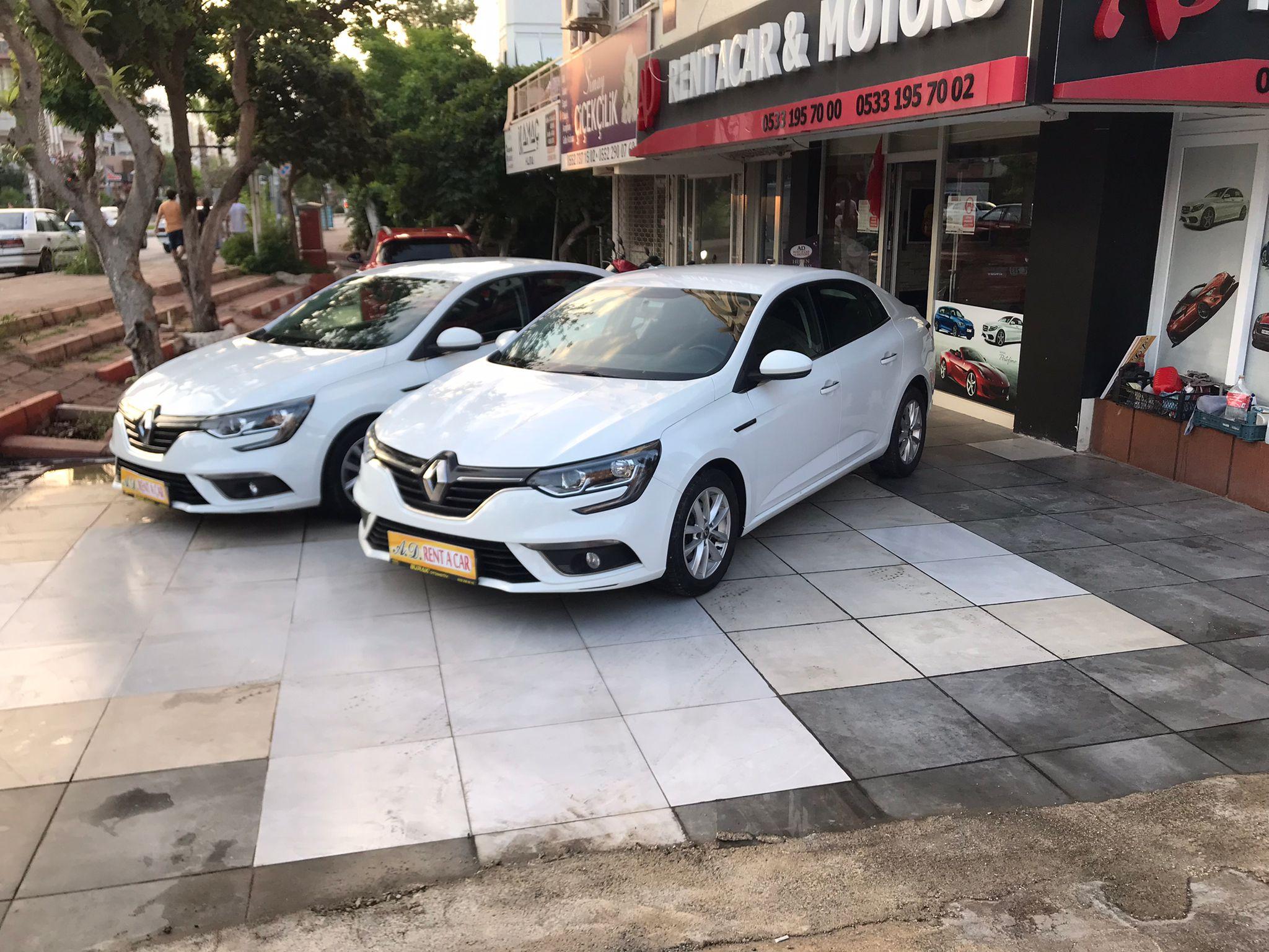 Antalya Kiralık Renault Megane
