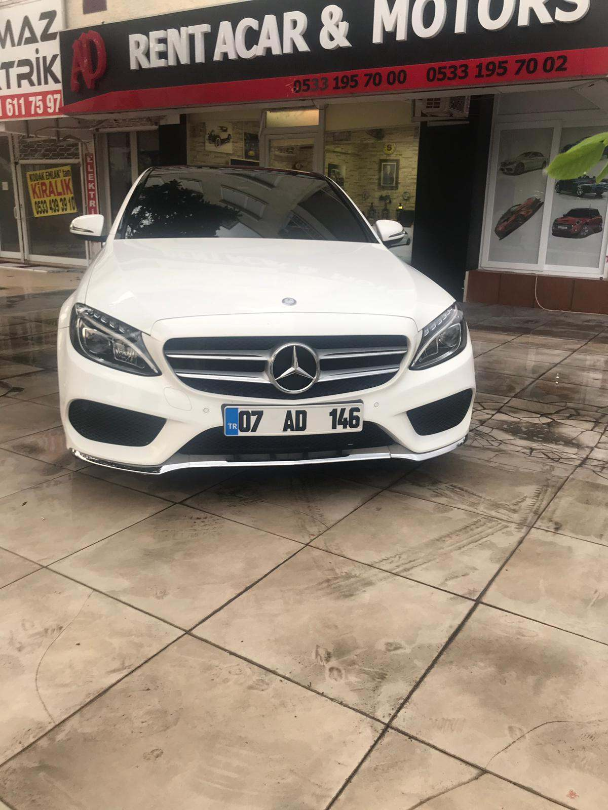 Antalya Kiralık Mercedes C180