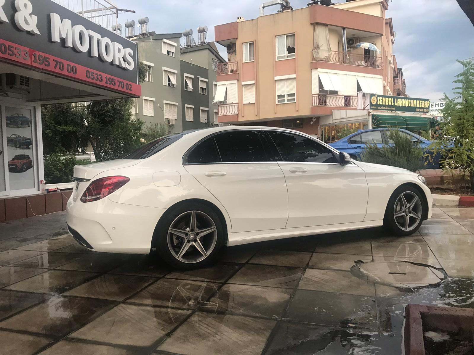 Аренда Mercedes C180 в Анталии