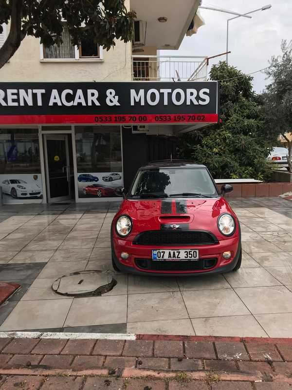Antalya Rental Mini Cooper S