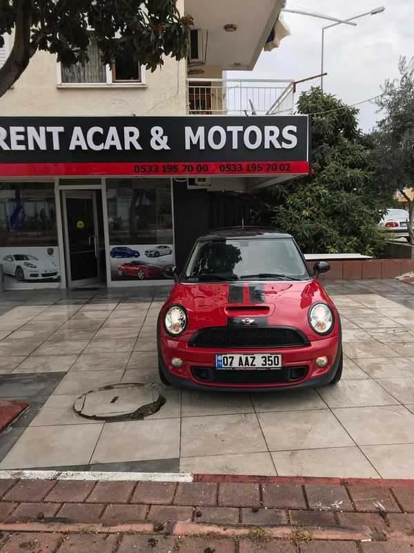Antalya Vermietung Mini Cooper S.