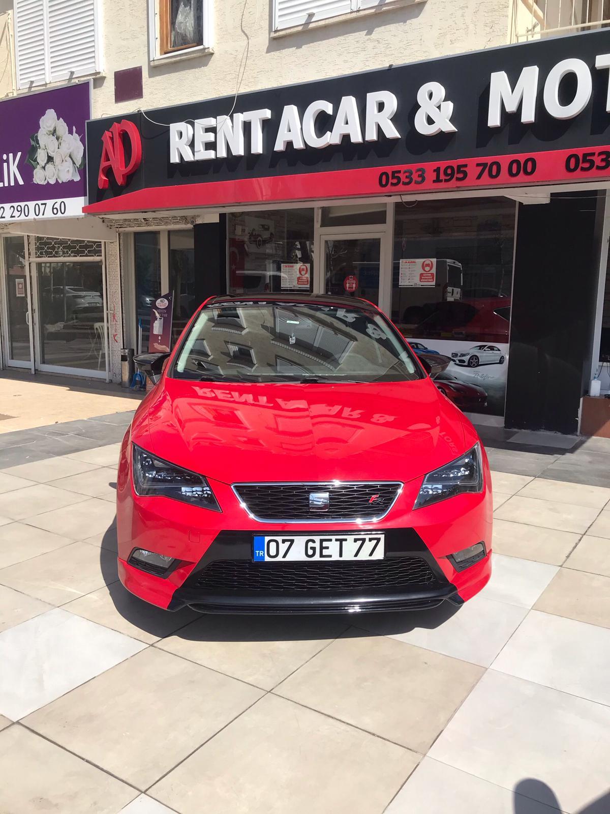 Antalya Seat Leon FR Automatic Gear