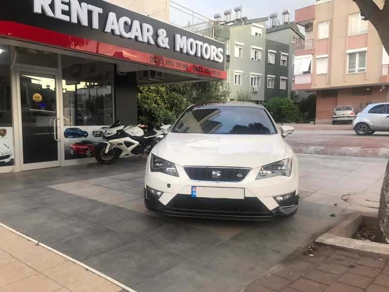 Antalya Kiralık Seat Leon FR Otomatik Vites